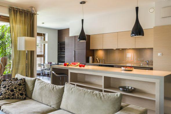 Ideas para una cocina peque a samyka interiores - Electrodomesticos para cocinas pequenas ...